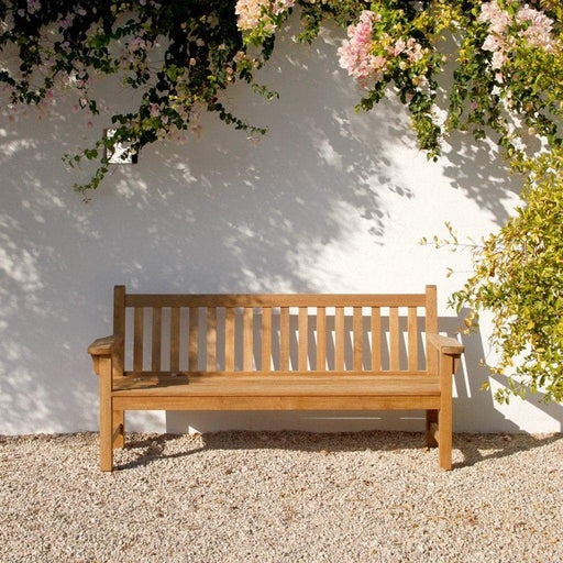 Barlow Tyrie Garden Furniture Barlow Tyrie London Hardwood Garden Bench 191cm / 6ft
