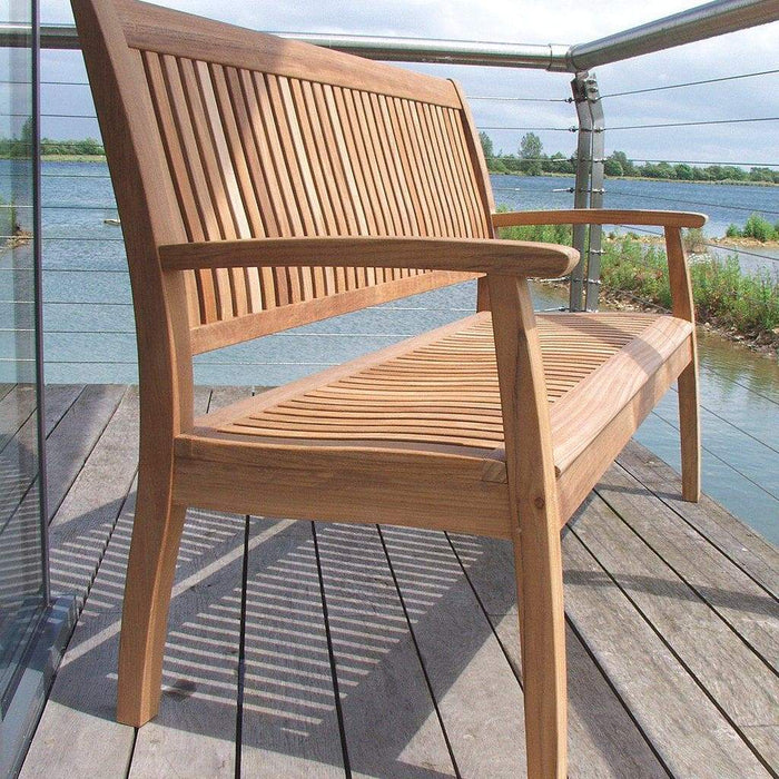 Barlow Tyrie Garden Furniture Barlow Tyrie Monaco Outdoor Wooden Bench 146cm