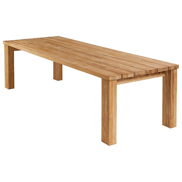 Barlow Tyrie Titan Teak 300cm Wooden Outdoor Furniture Dining Table - Mid Ulster Garden Centre, Ireland