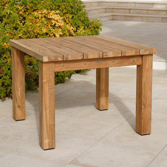 Barlow Tyrie Titan Teak Outdoor Dining 4 Seater Set Table - Mid Ulster Garden Centre, Northern Ireland