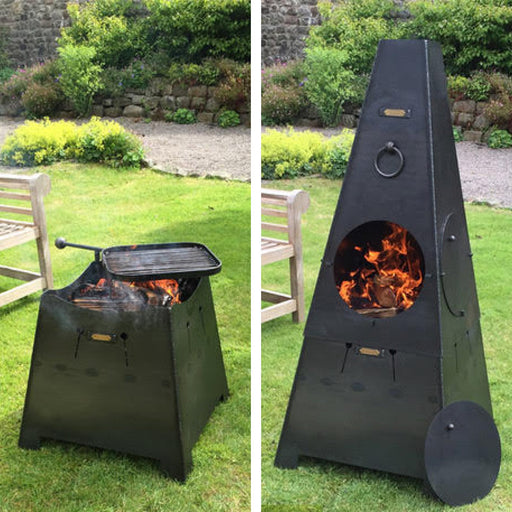 Firepits UK BBQ's and Firepits Chiminea or Firepit 2 in 1