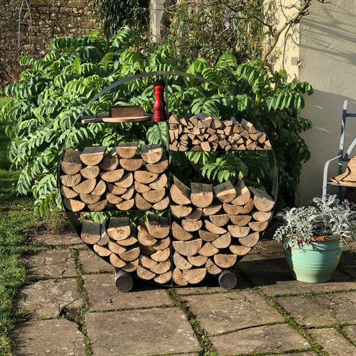 Firepits UK BBQ's and Firepits Firepit Circular Log Store