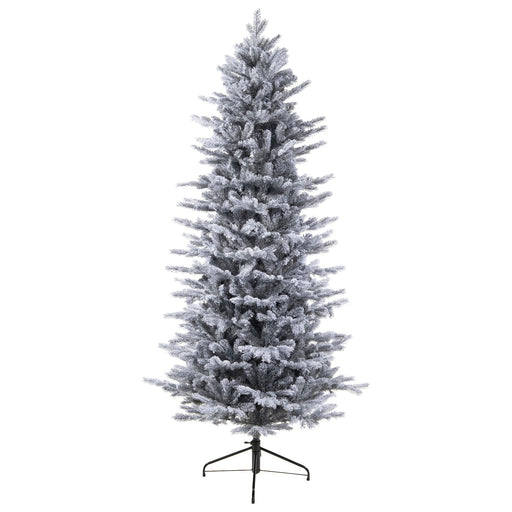 Kaemingk Artificial Christmas Trees Kaemingk Everlands Frosted Grandis Slim Fir Christmas Tree 210cm / 7ft