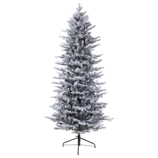 Kaemingk Artificial Christmas Trees Kaemingk Everlands Frosted Grandis Slim Fir Christmas Tree 240cm / 8ft