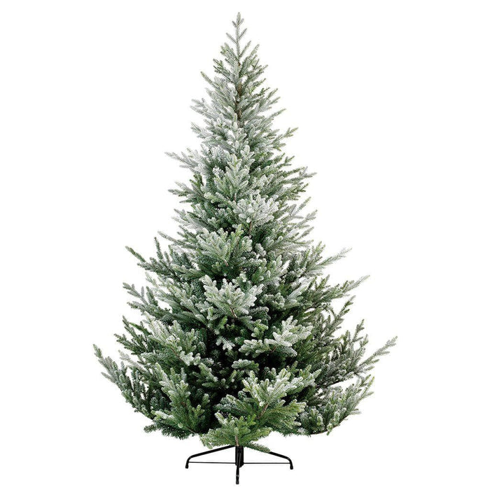 Kaemingk Artificial Christmas Trees Kaemingk Everlands Snowy Norway Spruce Christmas Tree (green/white) 210cm / 7ft