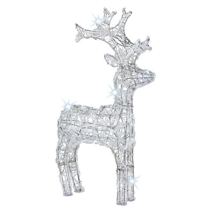 Kaemingk Lumineo LED Acrylic Reindeer Figure (50 Lights)