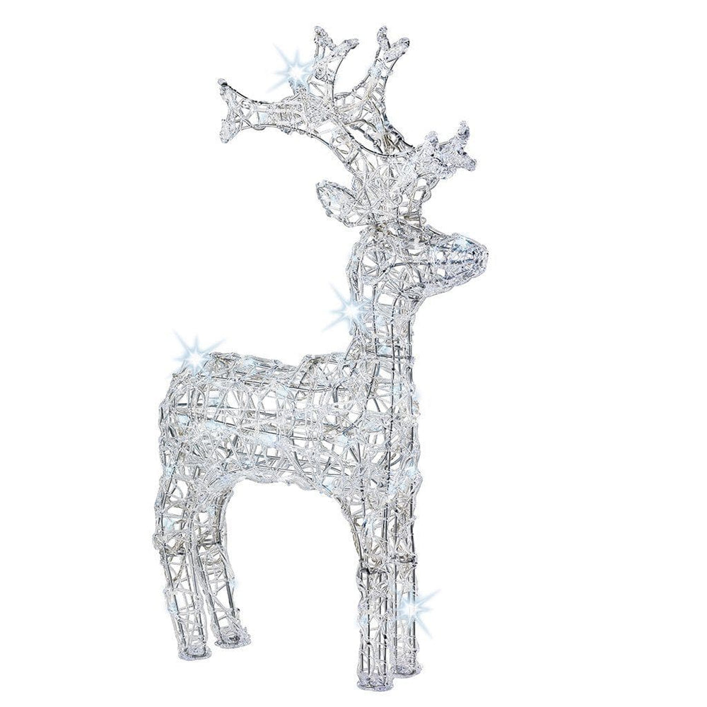 Kaemingk Lumineo LED Acrylic Reindeer Figure (120 Lights)