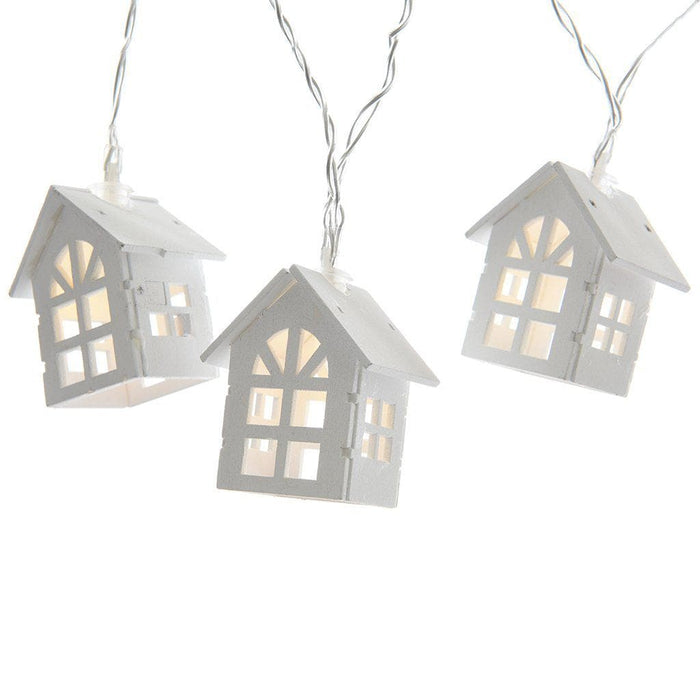 Lumineo Small Lantern Decoration String Lights - Mid Ulster Garden Centre