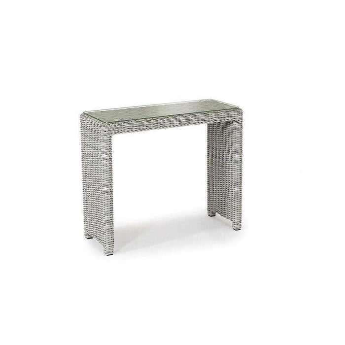 Kettler Palma Rattan White Wash Side Table - Mid Ulster Garden Centre, Ireland