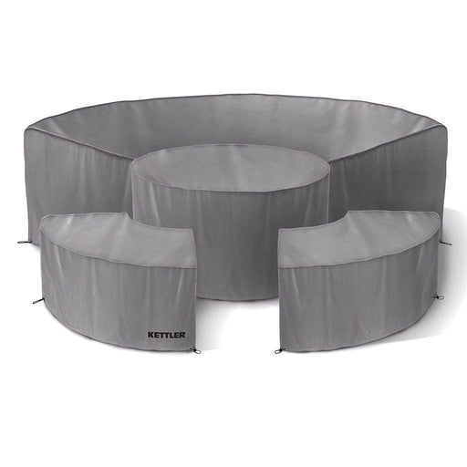 Kettler Garden Furniture Accessories Kettler Palma Round 3 Piece Protective Covers Set