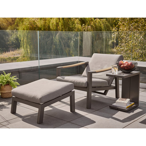 Kettler Garden Furniture Kettler Elba Relaxer With Footstool Including Cushion