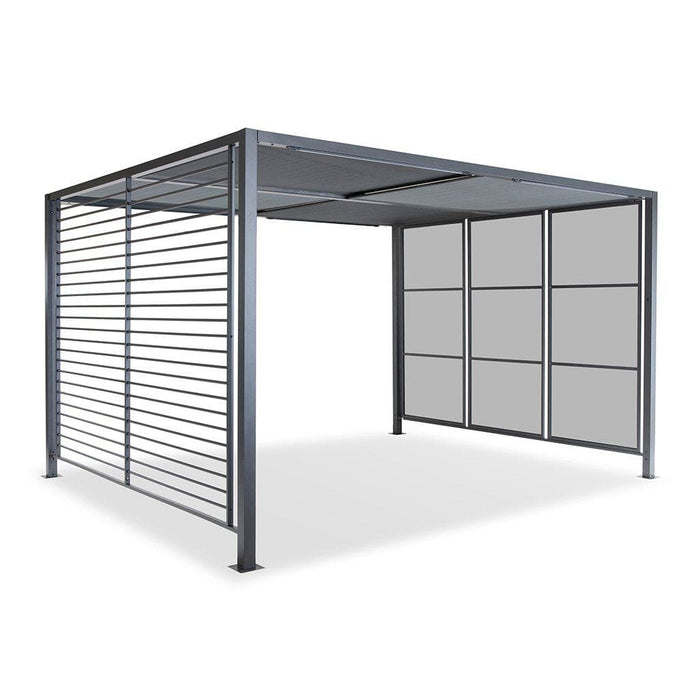 Kettler Garden Furniture Accessories Kettler Panalsol Deluxe 3 x 3.5m Aluminium Canopy (with LED Solar Lights)
