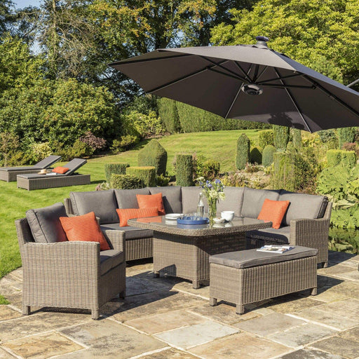 Kettler Garden Furniture Kettler Palma Grande Corner Garden Seating In Rattan