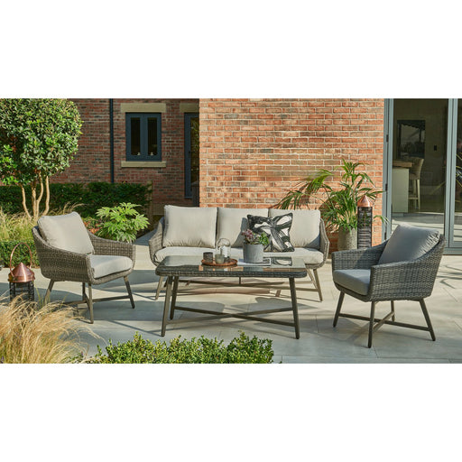 Kettler Garden Furniture Kettler LaMode Lounge Garden Furniture Set With 2 Seat Sofa