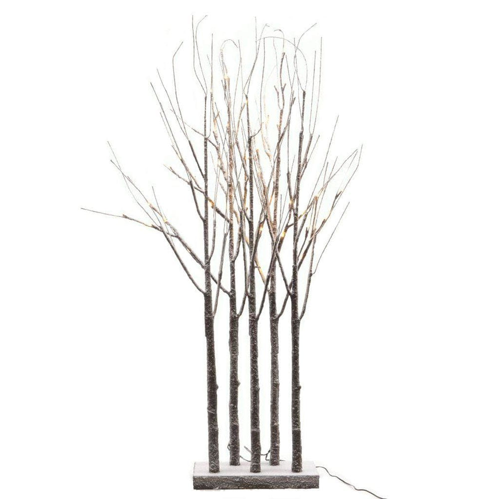 Lumineo - 90cm Snowy Grove Tree with 48 LEDs  (Indoor or Outdoor) - Mid Ulster Garden Centre, Ireland