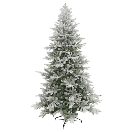 Puleo Kelford Fir Flocked Christmas Tree 7.5ft - Mid Ulster Garden Centre
