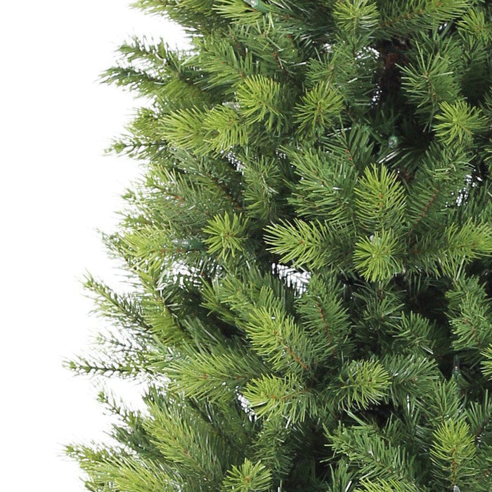 Puleo Kensington Fir Slim Artificial Christmas Tree 7.5ft - Detail - Mid Ulster Garden Centre