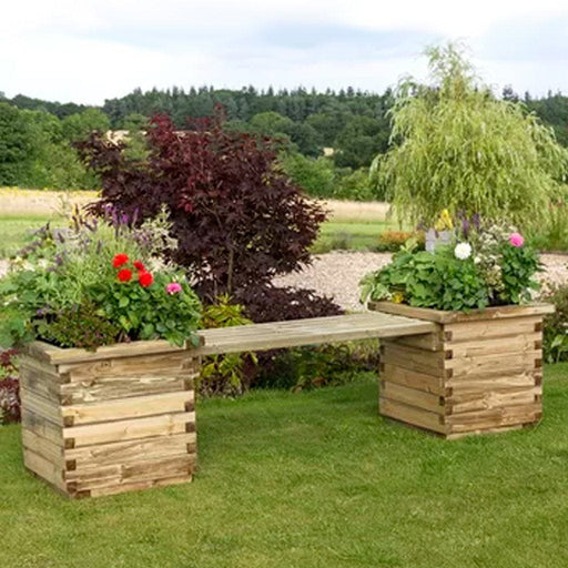 Zest Garden Furniture Zest Isabel Planter Bench