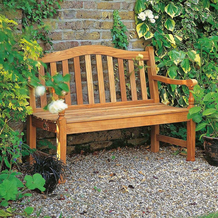 Magnificent Barlow Tyrie Waveney Teak 4Ft Small Garden Bench Gamerscity Chair Design For Home Gamerscityorg