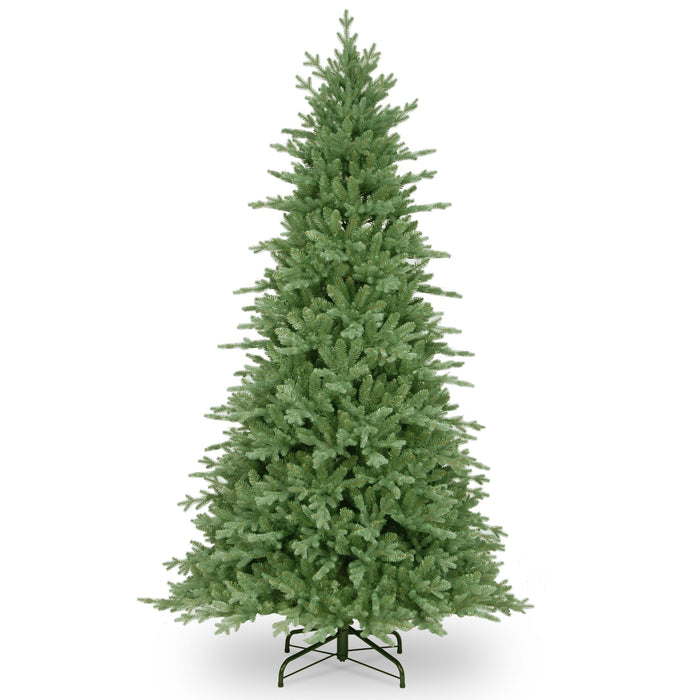 National Tree Company Feel Real Buckingham Spruce Hinged Tree 210cm / 7ft