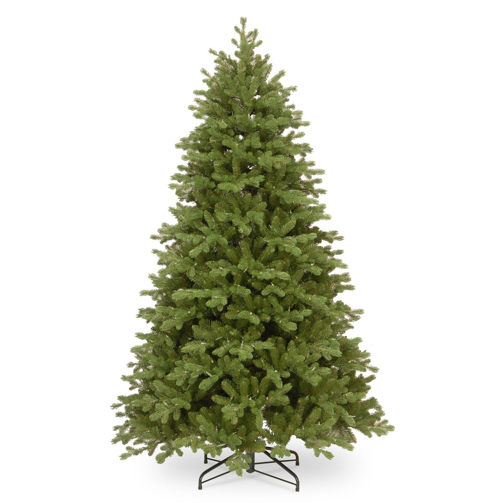 National Tree Company Feel Real Bosworth Spruce Hinged Tree 225cm / 7.5ft - Mid Ulster Garden Centre, Northern Ireland