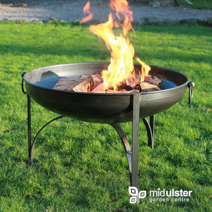 Firepits UK BBQ's and Firepits Plain Jane Outdoor Fire Pit 90cms