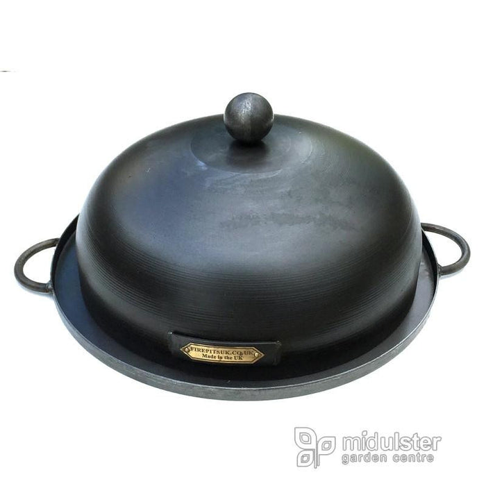 Firepits UK BBQ's and Firepits Fire Pit Roasting Tray and Lid
