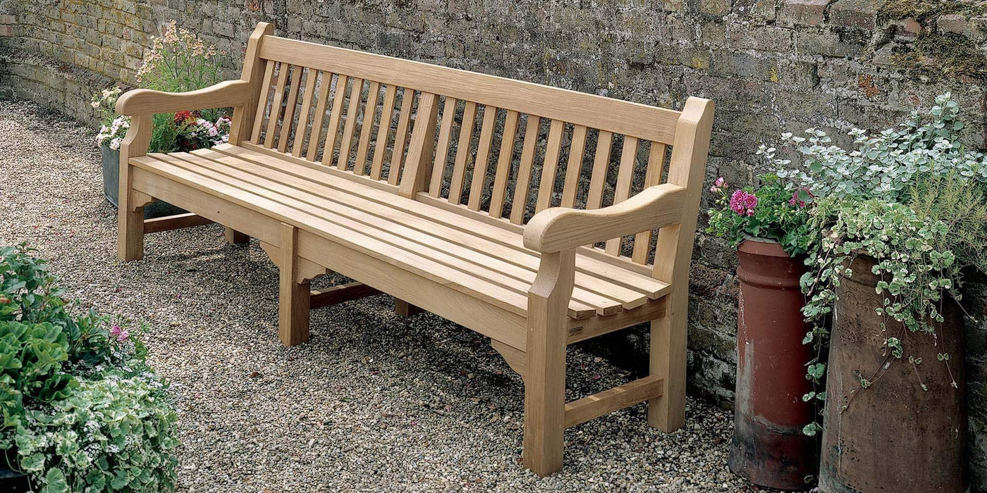 Barlow Tyrie Rothesay Teak Bench (different sizes available) - Mid Ulster Garden Centre, Ireland