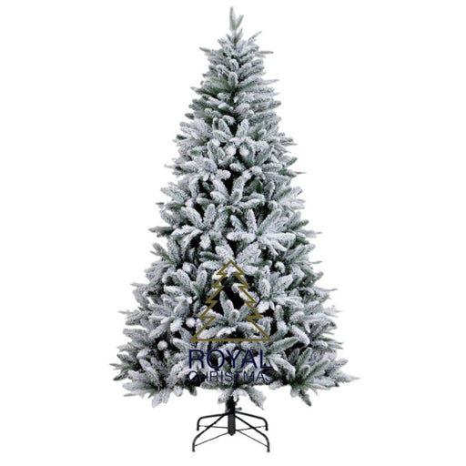 Royal Christmas Melbourne Flock Christmas Tree 210cm / 7ft