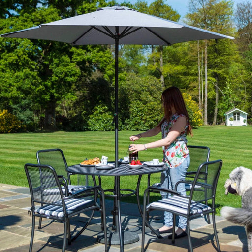 Alexander Rose Portofino 4-seater 1.05m Round Table set - Mid Ulster Garden Centre, Ireland
