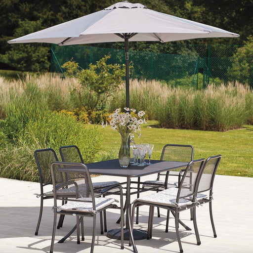 Alexander Rose Garden Furniture Alexander Rose Portofino 6-seater Rectangular Table Set