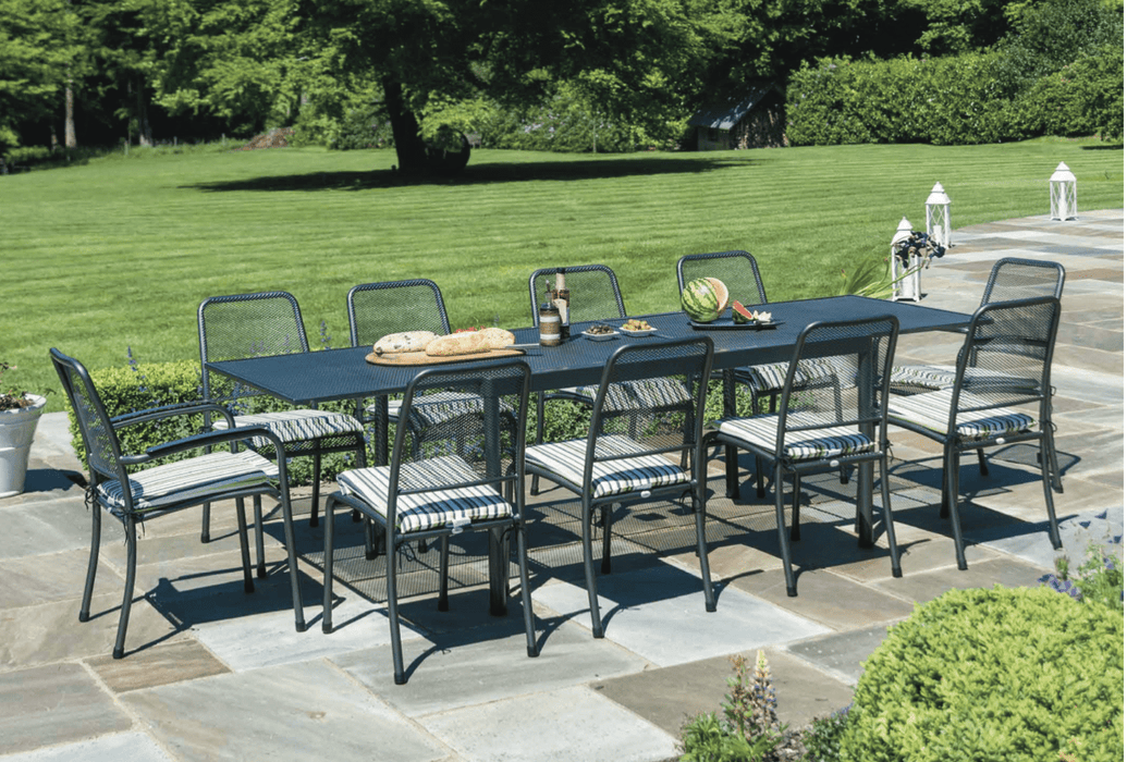 Alexander Rose Portofino 10-seater Extending Ceramic Table Set - Mid Ulster Garden Centre, Ireland