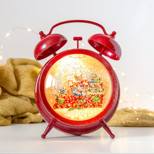 Konst Smide Christmas lighting Konstsmide Christmas LED WL Clock With Train