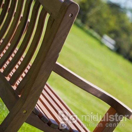 Alexander Rose Cornis Turnberry Bench 5ft / 150cm - Mid Ulster Garden Centre