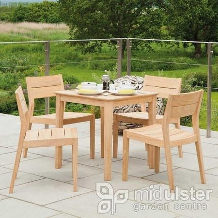 Alexander Rose Roble Square Table 0.8m x 0.8m - Mid Ulster Garden Centre, Ireland