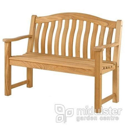 Alexander Rose Roble Turnberry Bench 4ft / 120cm - Mid Ulster Garden Centre, Ireland