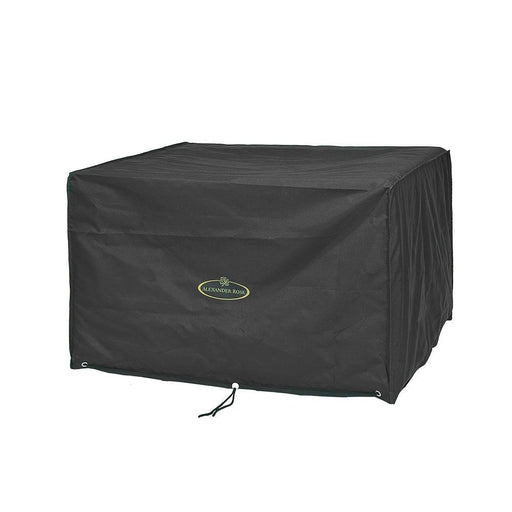 Alexander Rose Garden Furniture Accessories Alexander Rose 6 Seat Cube Set Cover In Black FC39