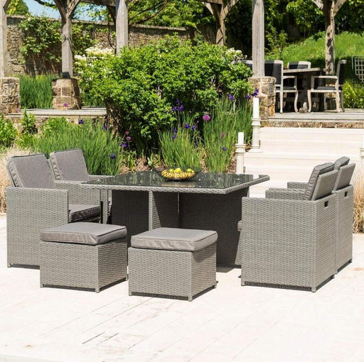 Alexander Rose Slate Grey Cube Set (truffle cushions) ireland