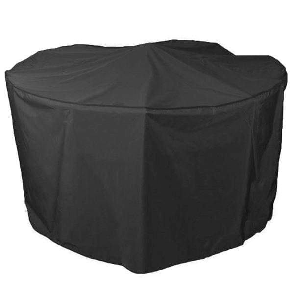 Bosmere Garden Furniture Accessories Bosmere - Protector 5000 Circular Patio Set Cover XL in BLACK (300cm dia)