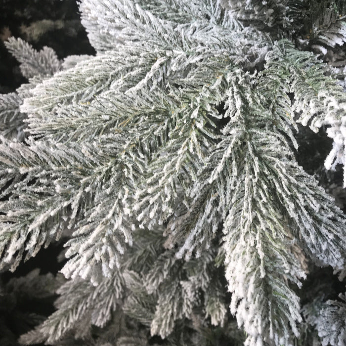 Kaemingk Everlands Snowy Grandis Christmas tree 7ft / 210cm