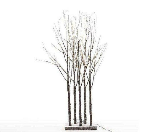 Lumineo - 120cm Snowy Grove Tree with 72 LEDs  (Indoor or Outdoor) - Mid Ulster Garden Centre, Ireland