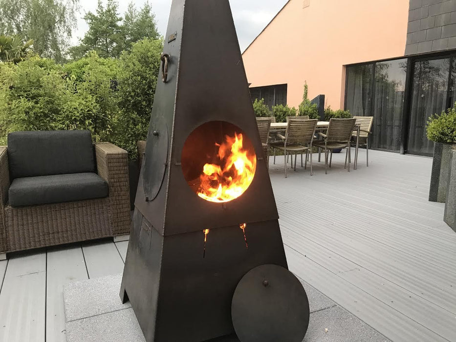 Chiminea or Firepit 2 in 1