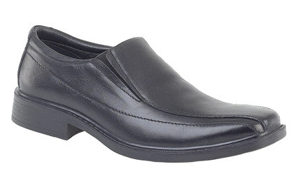 Roamers 724A Black Slip On
