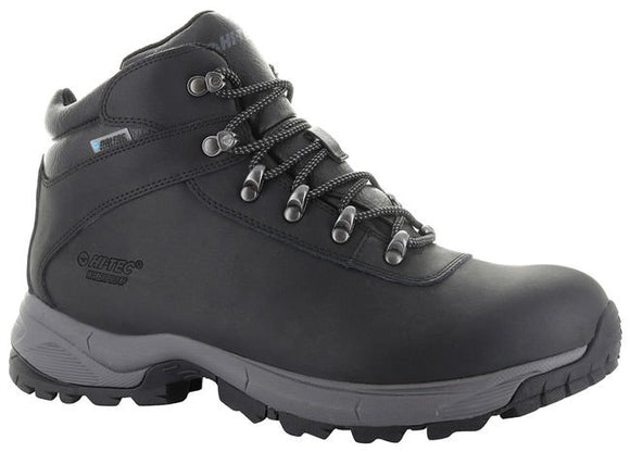 Hi-Tec Euro Trek Lite Black Hiking Boot