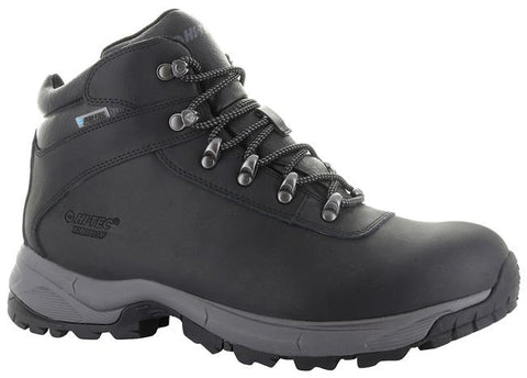 Hi Tec Euro Trek Lite Black Hiking Boot