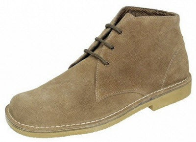 Roamers M378BS Wide Fit Suede Desert Boot €45.00