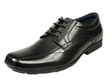 Pod Angus Black Leather Shoe
