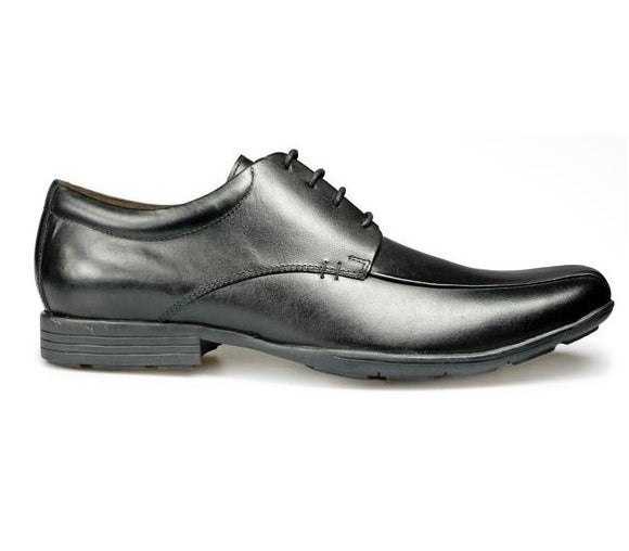Pod Wessex/Angus Black Leather Shoe