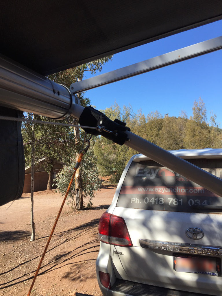 Ezy Anchor Caravan Guy Rope How To Use Guide