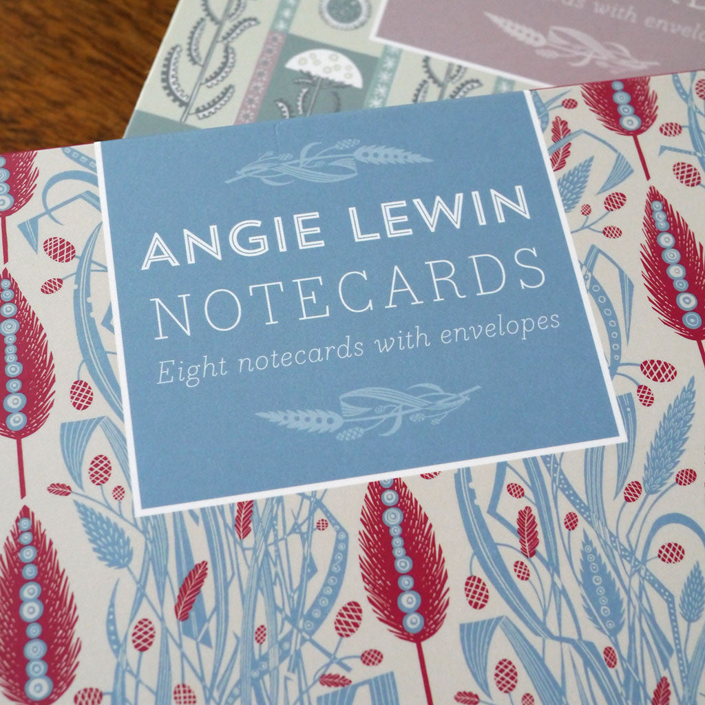 Meadow's Edge notecards - Angie Lewin